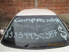 Autos Abandonados, Adeudados, Descompuestos, Chocado