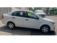 Aveo Ls 2014 Blanco, Automatico, Aire, 105,000 Kms